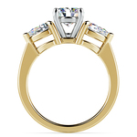 Pear Diamond Engagement Ring in Yellow Gold (3/4 ctw) | Thumbnail 02