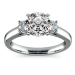 Round Diamond Engagement Ring in Platinum (1/4 ctw) | Thumbnail 01