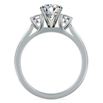 Round Diamond Engagement Ring in Platinum (1/4 ctw) | Thumbnail 02
