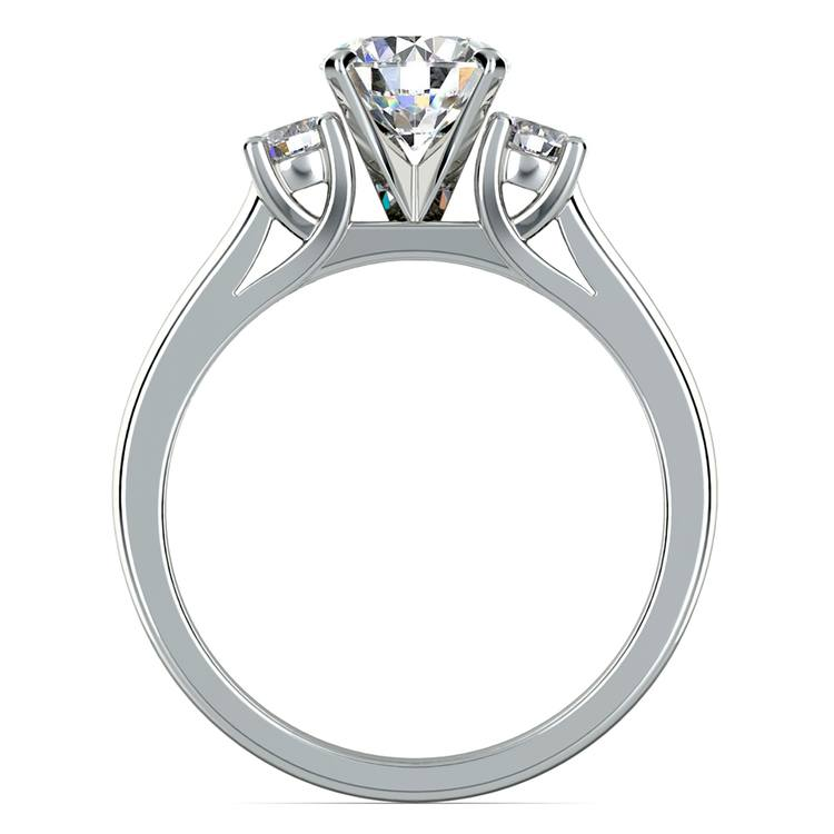 Round Diamond Engagement Ring in White Gold (1/4 ctw) | 02