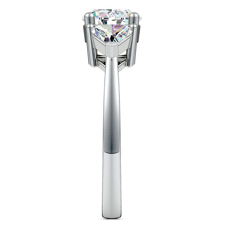 Trillion Diamond Engagement Ring in Platinum (3/4 ctw) | 03