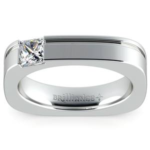 Achilles Princess Solitaire Mangagement™ Ring (1/2 ctw)