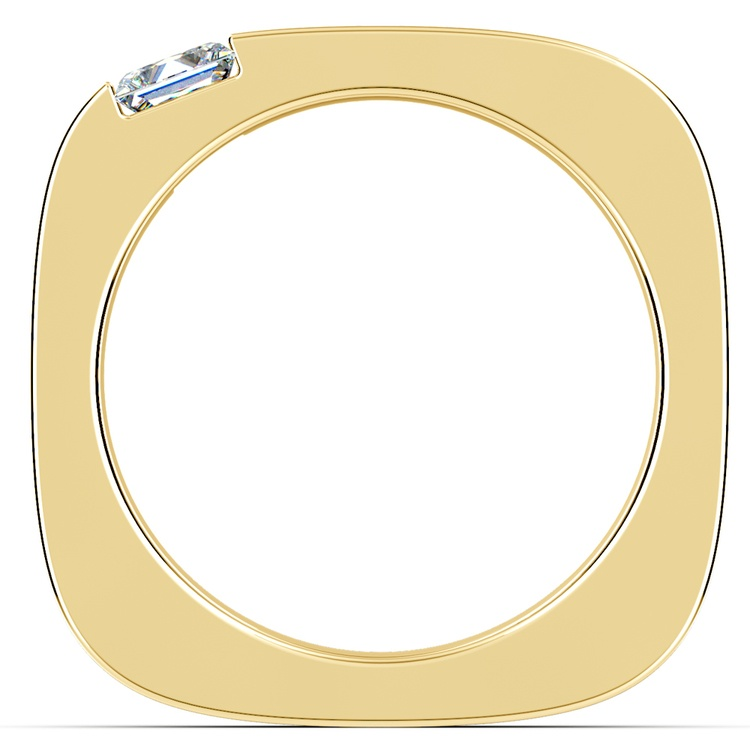 Achilles Princess Solitaire Mangagement™ Ring in Yellow Gold (1/2 ctw) | 02