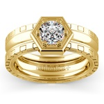 Ajax Solitaire Mangagement™ Ring in Yellow Gold (1 ctw) | Thumbnail 01