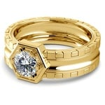 Ajax Solitaire Mangagement™ Ring in Yellow Gold (1 ctw) | Thumbnail 04