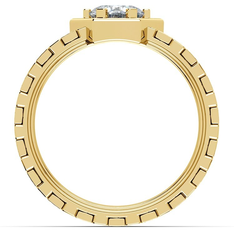 Ajax Solitaire Mangagement™ Ring in Yellow Gold (1 ctw) | 02