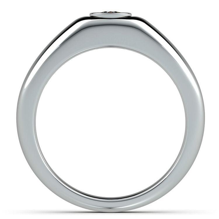 Atlas Cushion Solitaire Mangagement™ Ring (3/4 Ctw) | 03