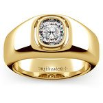 Atlas Cushion Solitaire Mangagement™ Ring in Yellow Gold (1 1/2 ctw) | Thumbnail 01