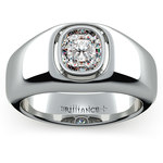 Atlas Cushion Solitaire Mangagement™ Ring (1 1/2 ctw) | Thumbnail 02