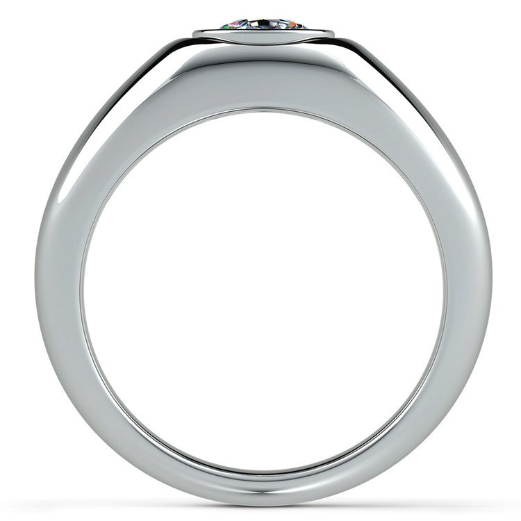 Atlas Cushion Solitaire Mangagement™ Ring (1 1/2 ctw) | 03