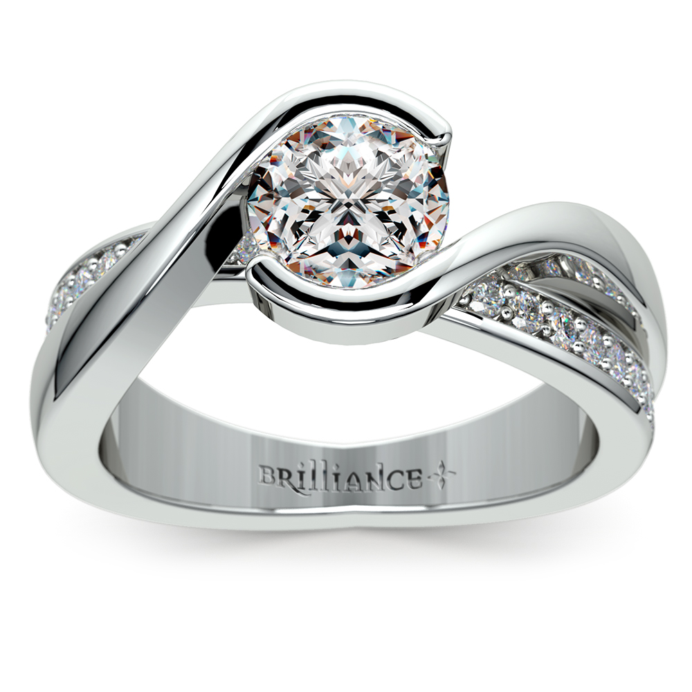 Shaped wedding rings cardiff Ali wolf style wedding