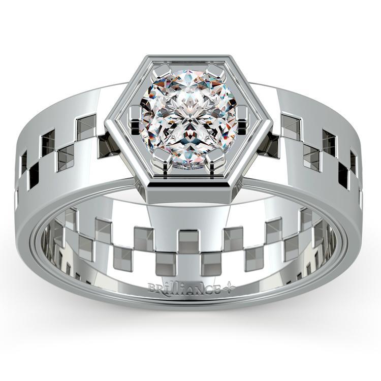 Castor Solitaire Mangagement™ Ring (1 ctw) | 02