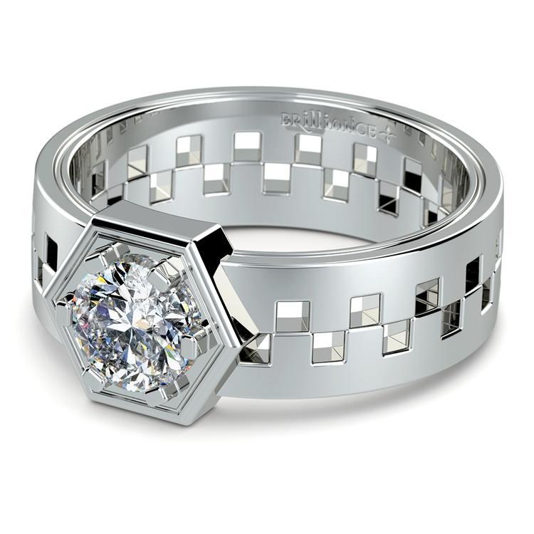 Castor Solitaire Mangagement™ Ring (1 ctw) | 01