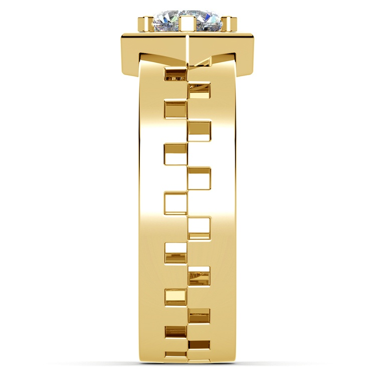 Castor Solitaire Mangagement™ Ring in Yellow Gold (1 ctw) | 04