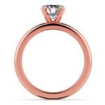 Classic Comfort Fit Diamond Bridal Set in Rose Gold | Thumbnail 02