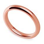 Classic Comfort Fit Diamond Bridal Set in Rose Gold | Thumbnail 05