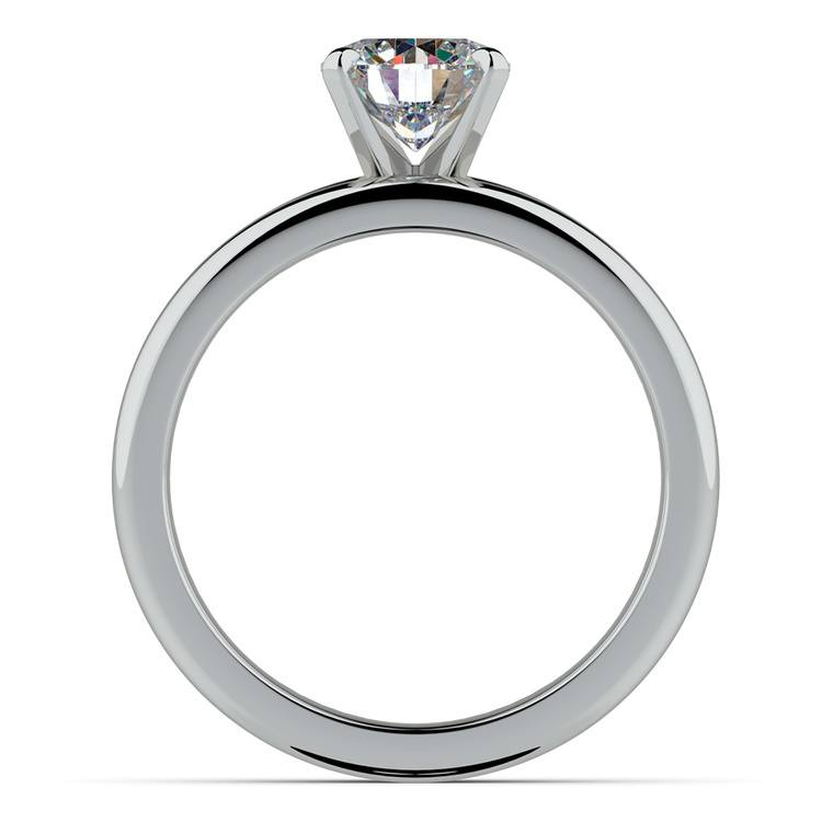 Classic Comfort Fit Diamond Bridal Set in White Gold   02