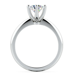 Classic Six Prong Solitaire Engagement Ring in White Gold | Thumbnail 02