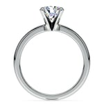 Classic Solitaire Engagement Ring in White Gold | Thumbnail 02