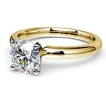 Classic Solitaire Engagement Ring in Yellow Gold | Thumbnail 04