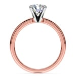 Comfort-Fit Solitaire Engagement Ring in Rose Gold (2.5mm)  | Thumbnail 02