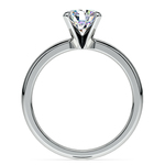 Comfort-Fit Solitaire Engagement Ring in Palladium (2mm)  | Thumbnail 02