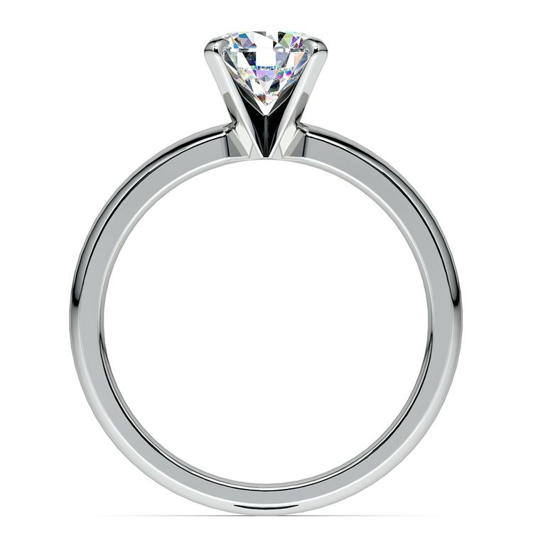 Comfort-Fit Solitaire Engagement Ring in White Gold (2mm) | 02