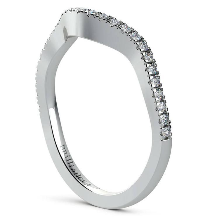 Cross Split Shank Bridal Set in Platinum   05