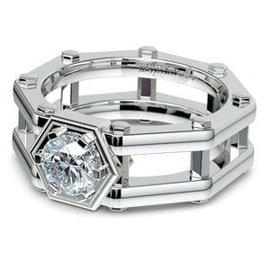 Daedalus Moissanite Mangagement Ring
