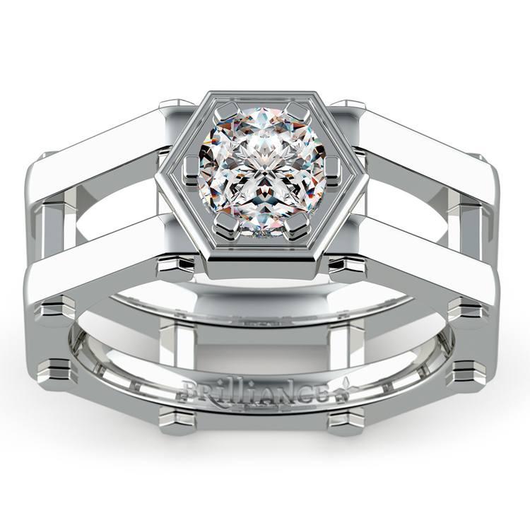 Daedalus Solitaire Mangagement™ Ring (1 ctw) | 01