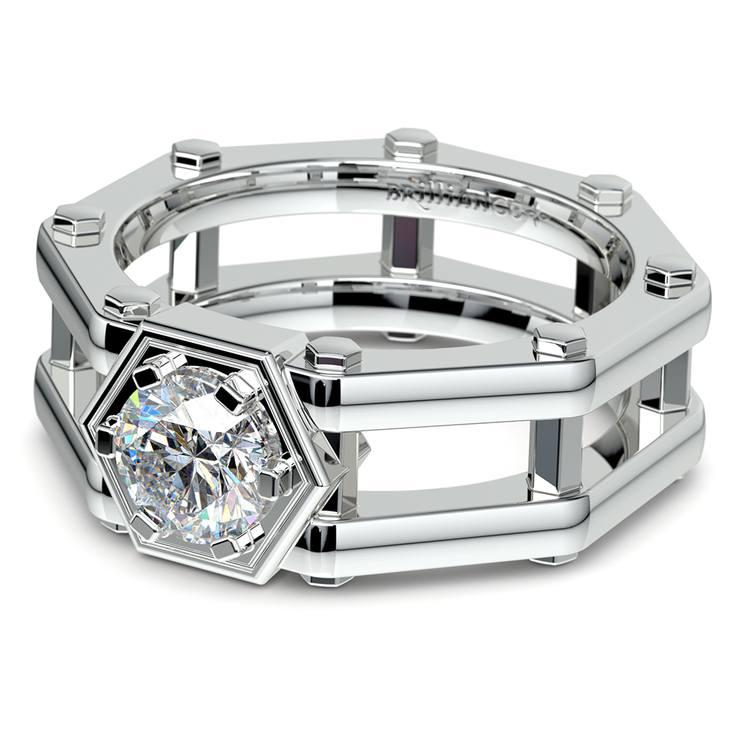 Daedalus Solitaire Mangagement™ Ring (1 ctw) | 04