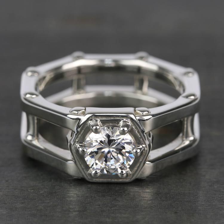 Daedalus Solitaire Mangagement™ Ring (1 ctw) | 05