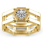 Daedalus Solitaire Mangagement™ Ring in Yellow Gold (1 ctw) | Thumbnail 02