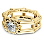 Daedalus Solitaire Mangagement™ Ring in Yellow Gold (1 ctw) | Thumbnail 04