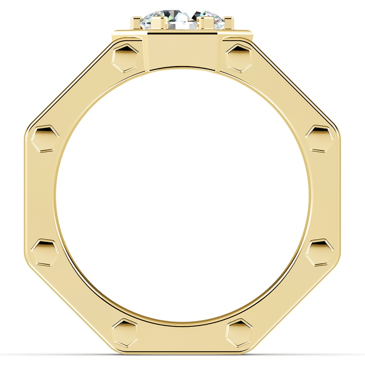 Daedalus Solitaire Mangagement™ Ring in Yellow Gold (1 ctw) | 03