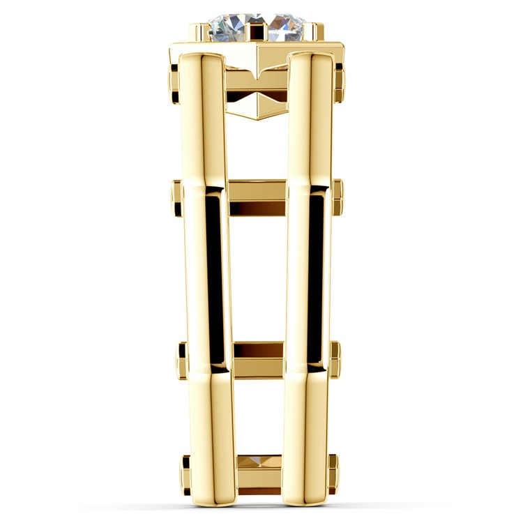 Daedalus Solitaire Mangagement™ Ring in Yellow Gold (1 ctw) | 04