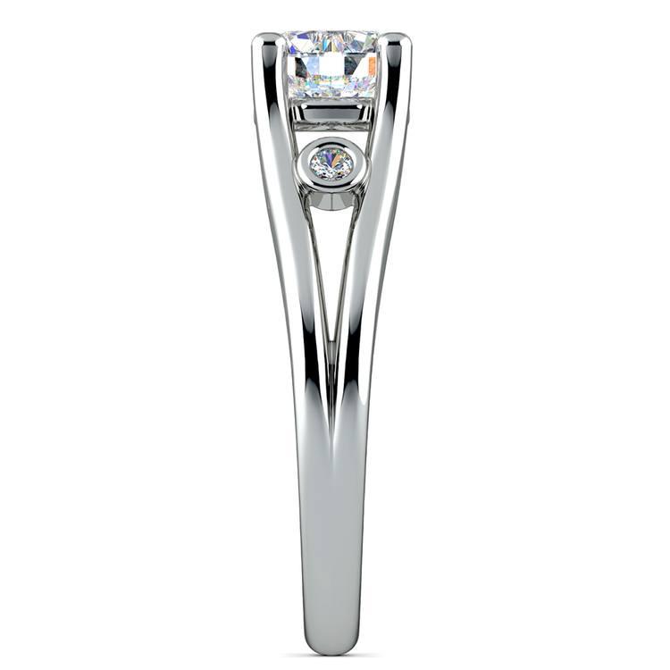 Diamond Accent Solitaire Engagement Ring in Platinum | 03