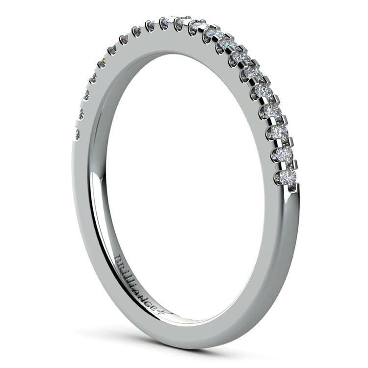 Diamond Halo Bridal Set In White Gold | 05