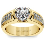Eros Diamond Mangagement™ Ring in Yellow Gold (2 1/3 ctw) | Thumbnail 02
