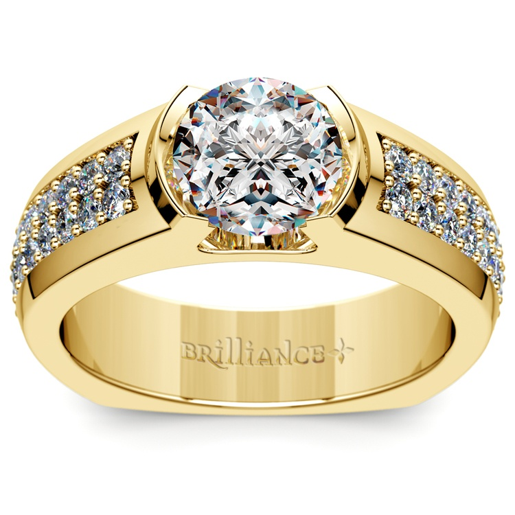 Eros Diamond Mangagement™ Ring in Yellow Gold (2 1/3 ctw) | 02