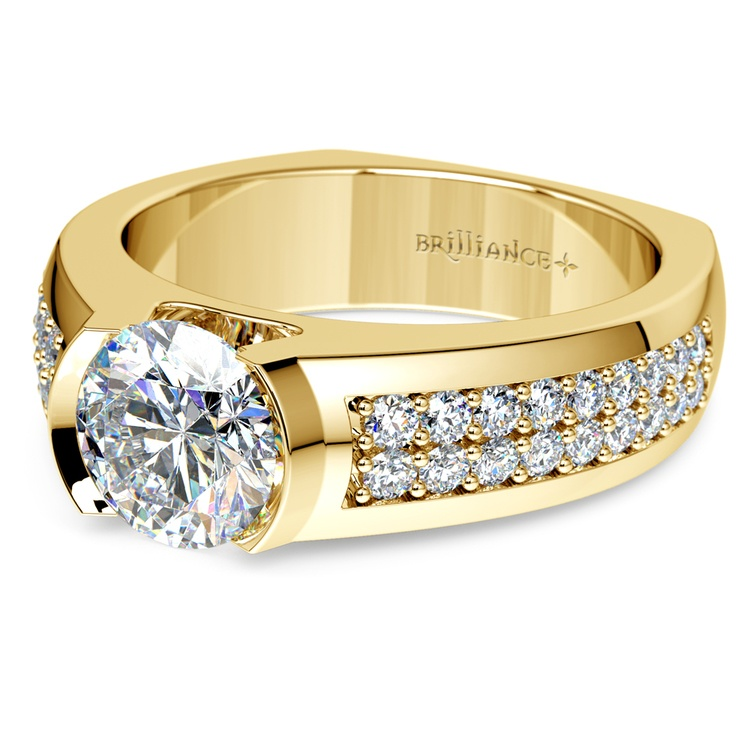 Eros Diamond Mangagement™ Ring in Yellow Gold (2 1/3 ctw) | 01