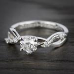 Florida Ivy Diamond Engagement Ring in Platinum | Thumbnail 05