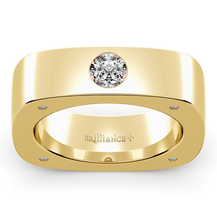 Helios Diamond Mangagement™ Ring in Yellow Gold (5/8 ctw) | 01