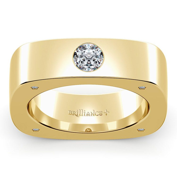 Helios Moissanite Mangagement Ring | 02