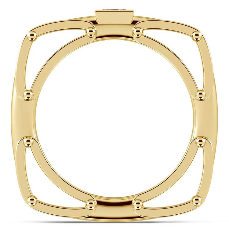 Hephaestus Princess Solitaire Mangagement™ Ring in Yellow Gold (1/3 ctw) | 02