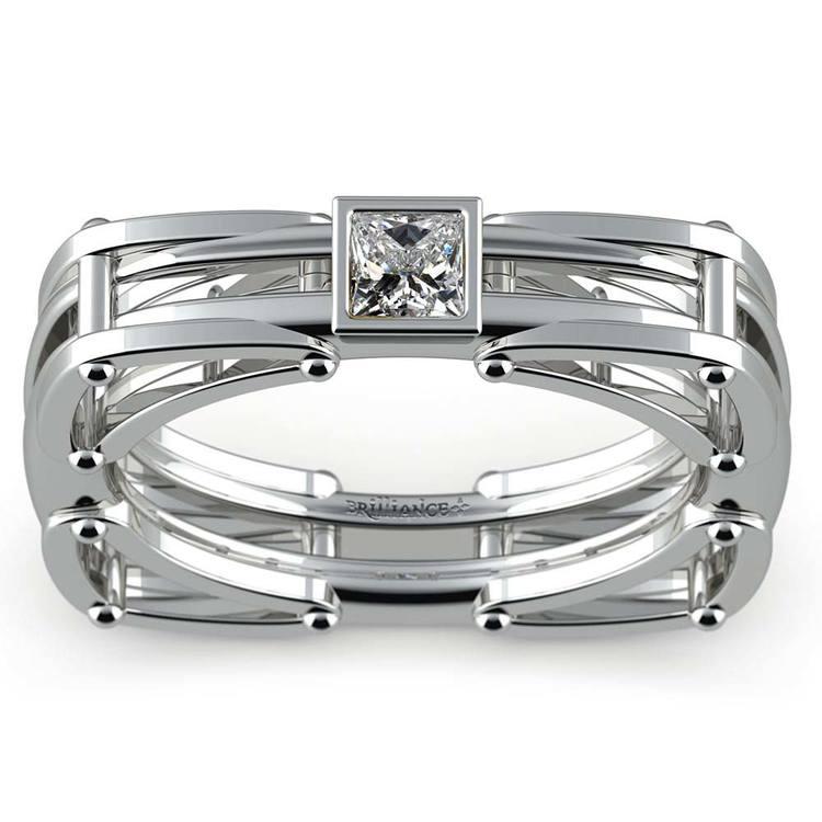 Hephaestus Princess Solitaire Mangagement™ Ring (1/3 ctw) | 01