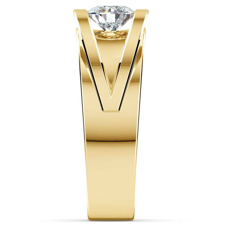 Hyperion Solitaire Mangagement™ Ring in Yellow Gold (3/4 ctw) | 04