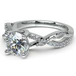 Ivy Diamond Engagement Ring in Platinum | Thumbnail 04
