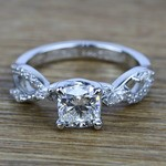 Ivy Diamond Engagement Ring in White Gold | Thumbnail 05