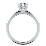 Knife Edge Solitaire Engagement Ring in Platinum | Thumbnail 02
